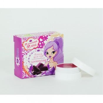 Блеск-бальзам для губ Маленькая Мисс - Шоколад (Бизорюк)