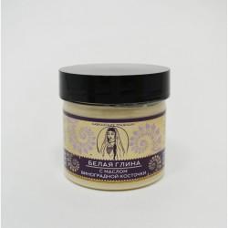Белая глина с маслом виноградной косточки (Бизорюк)