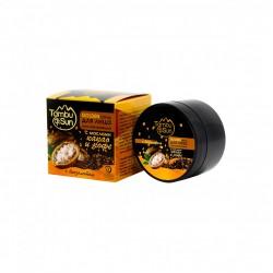 Тамбуканский GOLDEN скраб для лица - С маслом какао и кофе (Тамбу-Сан)