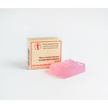 Монастырское оздоровительное мыло для проблемной кожи (Солох Аул)