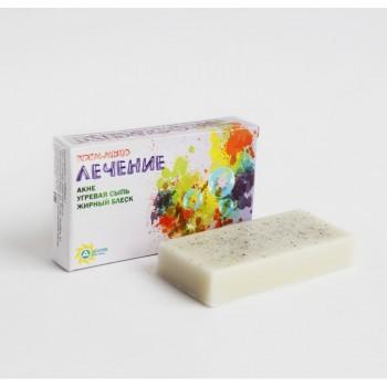 Лечебное крем-мыло - Муравьиный яд (белое)